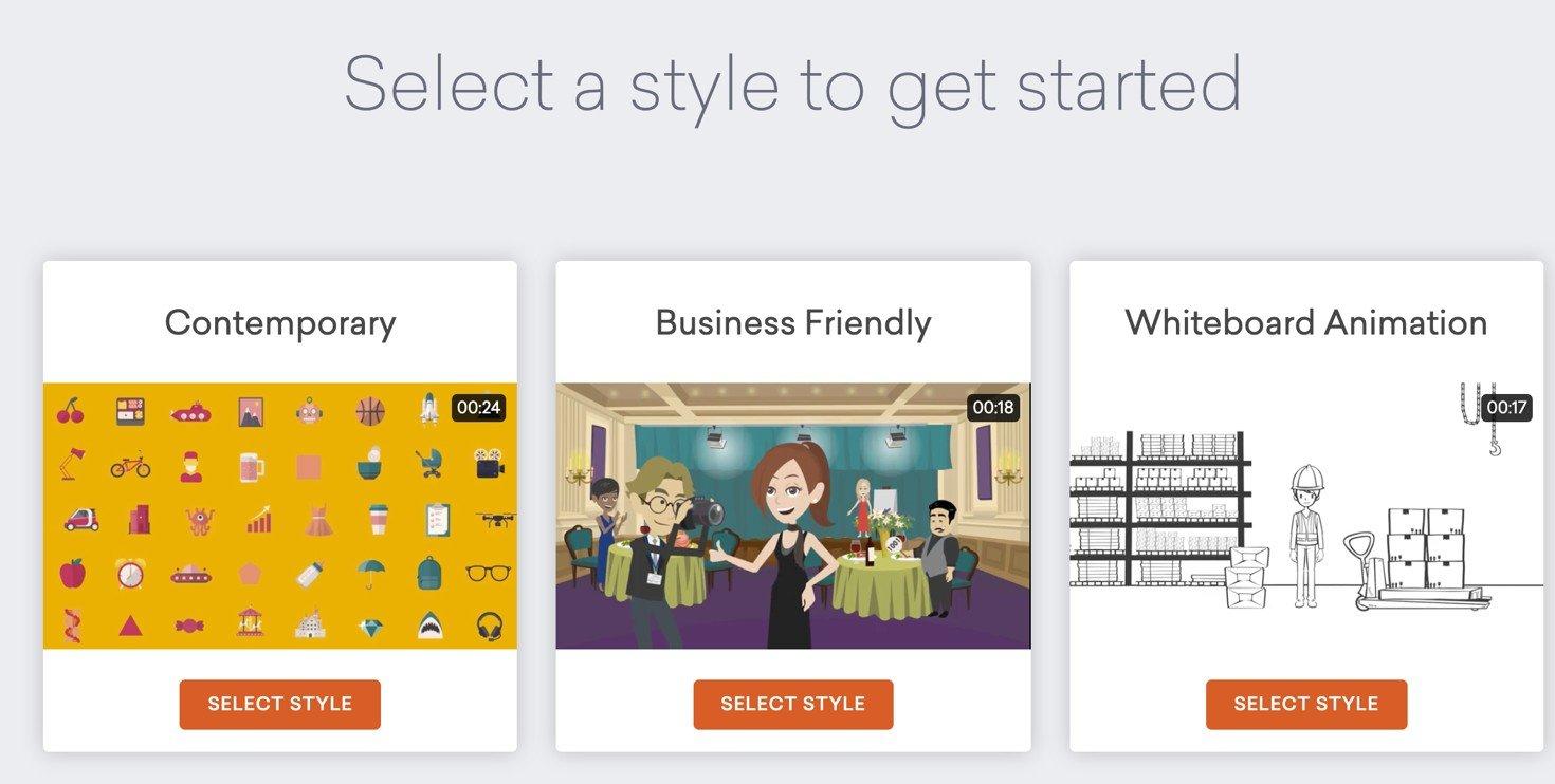 tool per creare video vyond