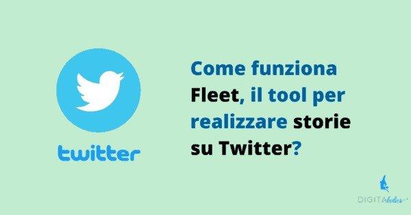 Arrivano in Italia le storie su Twitter: come funziona Fleet?